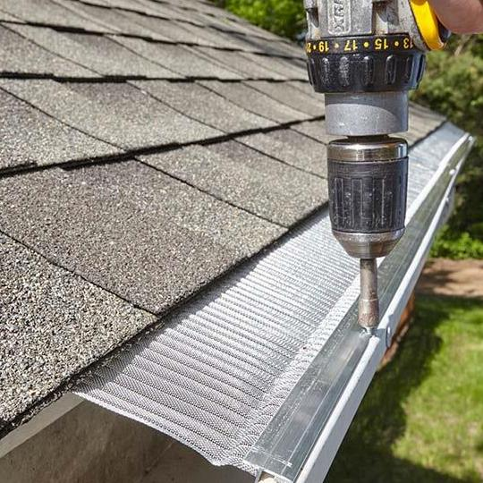 Gutter Guard Installed by Huuso